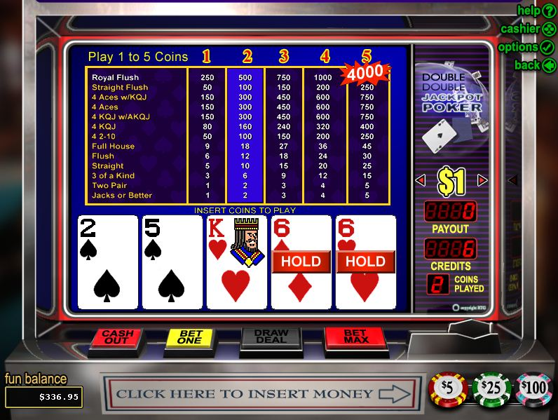 video poker gratuit